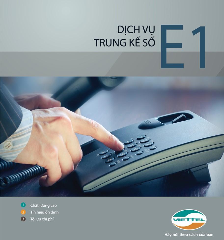 Dịch vụ trung kê E1