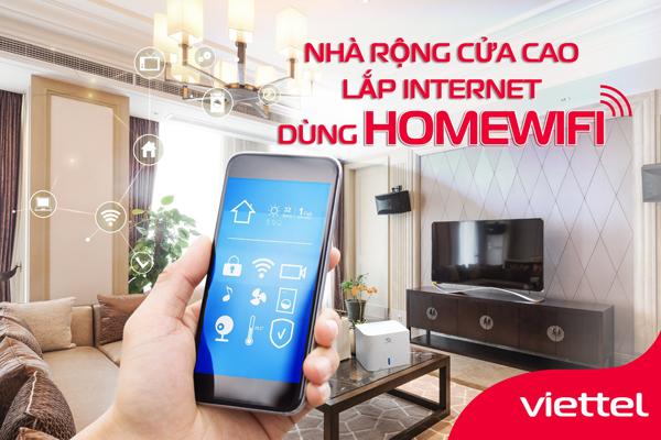 Home Wifi Viettel – Giải Pháp Phủ Sóng Wifi Toàn Ngôi Nhà